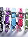 Chat / Chien Colliers Ajustable/Reglable / Cosplay Noir / Vert / Bleu / Incanardin / Violet Cuir PU