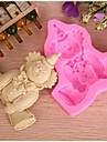 Moule de Cuisson Cartoon 3D Pour Gateau Pour Cookie Pour Tarte Caoutchouc de silicone Haute qualite Ecologique Noel