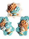 blomkruka trädgårdskruka vas fondant tårta formar choklad mögel för köket bakning för socker godis kex