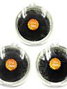 3pcs (8mm ;10mm ;12mm) noir individuels extensions faux cils faux cils oeil la main fait plantation greffage cils