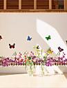 miljö borttagbara lila rotting socklar pvc taggar&klistermärke