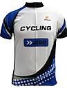 JESOCYCLING® Cykeltröja Herr Kort ärm Cykel Andningsfunktion / Snabb tork / Ultraviolet Resistant Tröja / Överdelar 100% Polyester