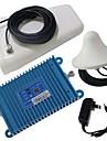 intelligens LCD-skärm dual band GSM / DCS 900 / 1800MHz mobiltelefon signal booster förstärkare + antenn kit