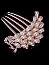 Women Hair Combs With Imitation Pearl/Rhinestone Wedding/Party Headpiece