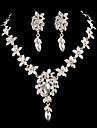 Women\'s Cubic Zirconia/Alloy Wedding/Party Jewelry Set With