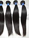 """4 pcs / lot 10 """"-28"""" cheveux bresiliens de vente chauds reels extensions de cheveux naturels droites sexy vague de corps de perruque de"""