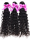 3pcs / lot brasilianskt jungfruligt hår djupa våg obearbetad brasilianska jungfru hår brasilianska hår buntar