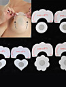 3 Style Invisible Strapless Backless Bra Pad Nipple Cover (6pcs Instant Lift+ 6pcs Nipple Cover,Random)