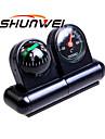 shunwei® bil 2-i-1 multifunktions sfäriska kompass termometer union