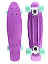 klassiska plast skateboard 22 tums mini cruiser med ABEC-7 kullager 60mm 78a hjul