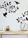 Wall Stickers Wall Decals, Style Tree Branch Bird PVC Wall Stickers