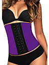Shapewear Corsets Nylon/Collagen Black/Blue/Fuchsia/Purple/Orange Sexy Lingerie Shaper