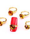 Tecknat/Frukt/Blomma/Abstrakt/Vackert/Bröllop - Finger - Nagelsmycken/Andra Dekorationer - av Metall - 10 - styck 11*7.5*1.5 - cm