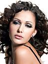 kvinnor snör åt beklär Wig 10inch ~ 24inch india hårfärg (# 1 # 1b # 2 # 4) vågigt hår