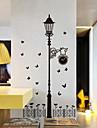 stickers muraux stickers muraux, lampadaires noirs muraux PVC autocollants
