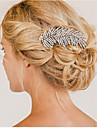 Sterling Silver/Kristallen/Licht Metaal Vrouwen/Bloemenmeisje Helm Bruiloft/Speciale gelegenheden Haarkammen/BloemenBruiloft/Speciale