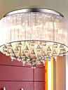 5W Takmonterad ,  Modern Borstad Särdrag for Kristall Metall Living Room / Bedroom / Dining Room / Sovrum
