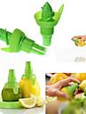 2 buc bucătărie creativă suc de lamaie storcator pulverizare fructe portocaliu gadge pulverizator (de culoare aleatorii)) 21 * 10 * 2 cm