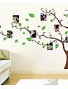 foto träd FRAM familj minne träd vägg dekal zooyoo803 dekorativa avtagbar PVC vägg klistermärke