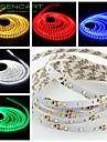 SENCART 5 M 300 3528 SMD Varmt vit/Vit/RGB/Röd/Gul/Blå/Grön Klippbar/Bimbar/Kopplingsbar/Lämplig för fordon/Självhäftande 25 WFlexibla