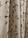 land curtains® en panel bladguld jacquard ridån