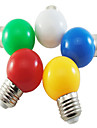1W E26/E27 Ampoules Globe LED G45 5 SMD 2835 350 lm Blanc Naturel Rouge Bleu Jaune Vert Decorative AC 100-240 V 5 pieces