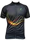 JESOCYCLING® Cykeltröja Dam / Herr Kort ärm CykelAndningsfunktion / Snabb tork / Ultraviolet Resistant / Dragkedja fram /