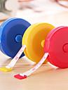 Retractable Type Plastic Tape Measure (Random Colors)