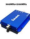 3g 2100mhz + 2g gsm 900mhz senal del telefono movil de doble banda de refuerzo 900 2100 telefono celular amplificador repetidor de senal