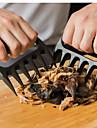 2st grizzlybjörn tassar klorna kött handler gaffeltång pull strimla fläsk bbq grillverktyg