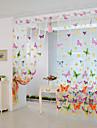 * 200cm 100cm fluture de imprimare pur panou fereastră cameră perdele separator nou pentru dormitor living
