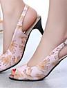 Women\'s Shoes Stiletto Heel Peep Toe Sandals Dress Blue/Pink/White