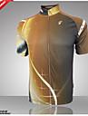 Getmoving® Cykeltröja Herr Kort ärm CykelAndningsfunktion / Snabb tork / Anatomisk design / Ultraviolet Resistant / Dragkedja fram / Back