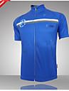Bouger® Maillot de Cyclisme Homme Manches courtes Velo Respirable / Sechage rapide / Resistant aux ultraviolets Maillot / Hauts/Tops