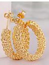 Cercei Rotunzi  La modă Circle Shape Auriu Bijuterii Pentru