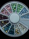 120 - Bijoux pour ongles/Autre decorations - Doigt/Orteil/Autre - en Bande dessinee/Fruit/Fleur/Abstrait/Adorable/Punk/Mariage - 8*8*1