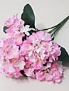 6 branches de fleurs d\'hortensia