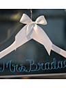 Mireasă Domnișoară de Onoare Cuplu Cadouri Piece / Set Nuntă Crom Culoarea Lemnului Personalizat Alb Cafea Cutie de Carton