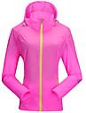 Sportif Veste de Cyclisme Femme Manches longues VeloEtanche / Respirable / Sechage rapide / Pare-vent / Resistant aux ultraviolets /