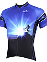 PaladinSport Men\'s Short Sleeve Cycling Jersey New Style Dawn DX522 100% Polyester
