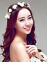 White Rose Floral Bloom Bridal/Beach Honeymoom/Party Head Flowers/Headpieces/Garland