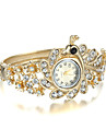 Women\'s Fashion Watch Quartz Alloy Band Bangle Elegant Gold Brand