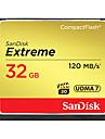 SanDisk 32Go Compact Flash  carte CF carte memoire EXTREME 800X