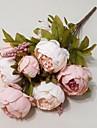Gren Silke Pioner Bordsblomma Konstgjorda blommor 22*12*12