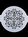 Four-C tårta övre inredningen stencil tårta utformning stencil socker hantverksverktyg färg vit