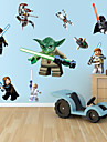 stickers muraux stickers muraux, lego Cartoon Robot monstre sticker mural PVC