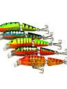 "1 pcs Hard Bait / Fishing Lures Hard Bait Brown / Green / Orange 9.61g g/1/3 oz. Ounce mm/4-1/4"" inch,Plastic Lure Fishing"