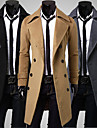Manteaux & Vestes ( Acrylique/Coton biologique ) Vintage/Informel/Travail Support a Manches longues pour Homme