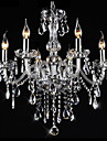3W Traditional/Classic / Vintage Crystal Electroplated Crystal ChandeliersLiving Room / Bedroom / Dining Room / Kitchen / Study