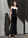TS Couture® Formal Evening / Black Tie Gala Dress Plus Size / Petite Sheath / Column Strapless / Sweetheart Ankle-length Velvet